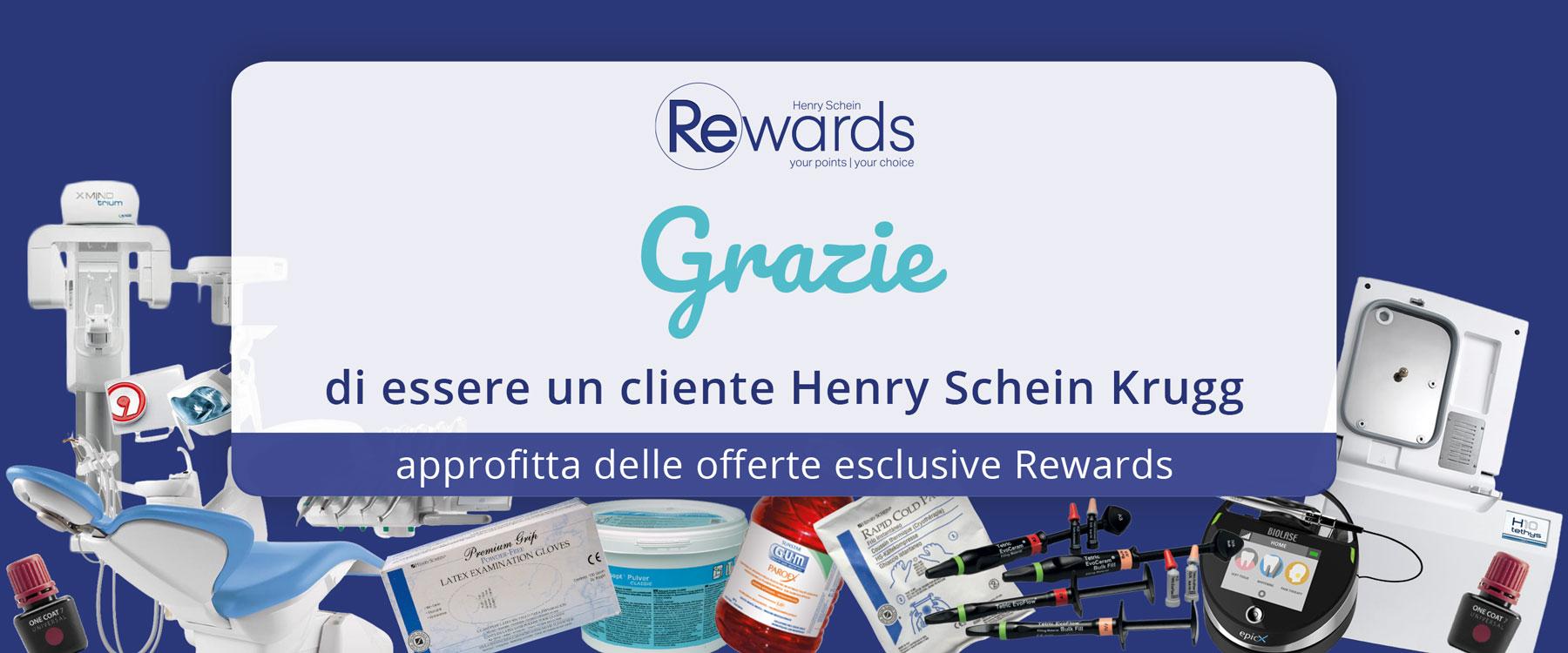 Grazie di essere un cliente Henry Schein Krugg